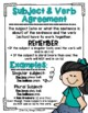 Subject and Verb Agreement [Anchor Chart]