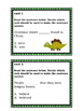 Subject and Verb Agreement: Dinosaur Themed Task Cards