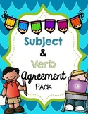 Subject and Verb Agreement Pack {Grammar Skills}