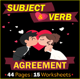 Subject and Verb Agreement | Worksheets | Reviews | Assess