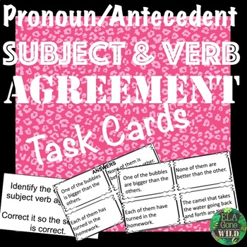 Subject and Verb Pronoun and Antecedent Agreement