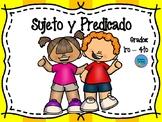 Sujeto y Predicado - Subject and predicate in Spanish