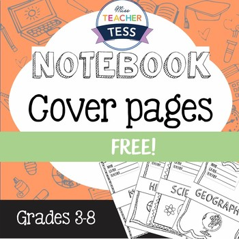 Subject cover pages