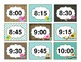 Subject labels and times (agenda) Bird theme classroom decoration