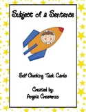 Subject of a Sentence Task Cards