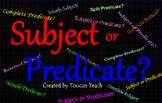 Subject or Predicate SMARTBoard Activities