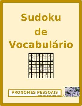 Subject pronouns in Portuguese Sudoku