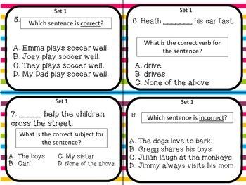 Subject-verb and Pronoun-antecedent Agreement {L.3.1}