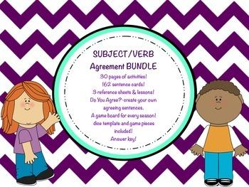 Subject Verb Agreement BUNDLE