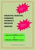 Subjective, Objective, Possessive, Intensive & Reflexive P