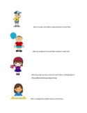 Subjective Pronouns (He, she, his, her) worksheet