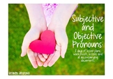Subjective and Objective Pronouns