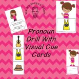 Subjective and Posessive Pronoun Drill