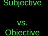 6th Grade Common Core Pronouns (Subjective vs. Objective Review Game)