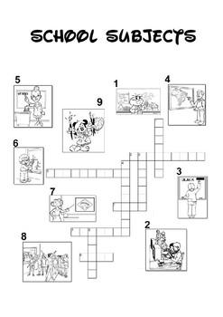 Subjects Crossword