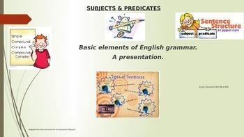 Subjects & Predicates