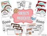 Subjects & Predicates Introduction: Milk & Cookies Themed