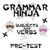 Subjects Verbs Pre-test - Grammar Ninja