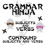 Subjects Verbs w/ Compound Subjects and Verbs - Grammar Ninja
