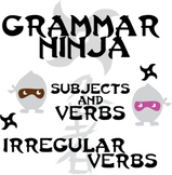 Subjects Verbs w/ Irregular Verbs - Grammar Ninja