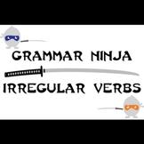 Subjects Verbs w/ Irregular Verbs Review Game PowerPoint - Grammar Ninja