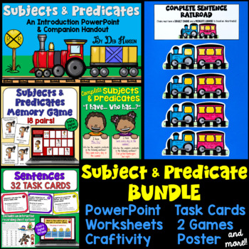 Subjects and Predicates Bundle