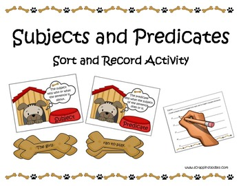 Subjects and Predicates (Dog House Puppy)