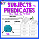 Subjects and Predicates |  Fun Grammar Activities