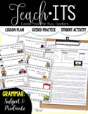 Subjects and Predicates Lesson Plan