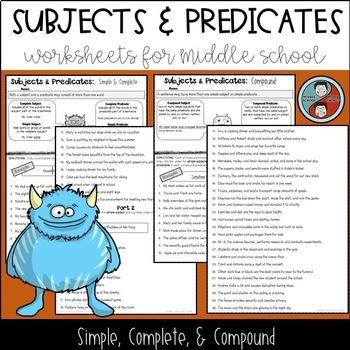 Sentence Structure Worksheet | Teachers Pay Teachers