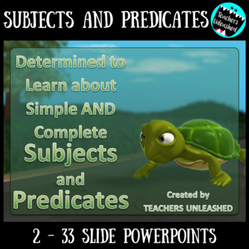 Subjects And Predicates Simple Amp Complete Powerpoint