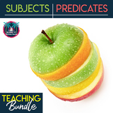 Subjects and Predicates plus Hard-to-Find Subjects Unit Bundle