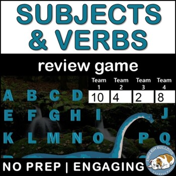 Subjects and Verbs Review Bomb Game