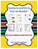 Subjects and Verbs Stories Bundle