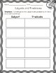 Subject Predicate Match, Activities, and Worksheet (or quiz)