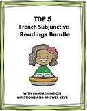 Subjonctif en Français: French Present Subjunctive Reading Bundle