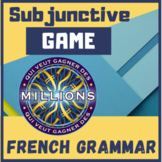 GAME Subjonctif present francais French Who wants to be a
