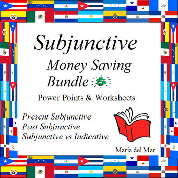 Present and Past Subjunctive Bundle (Spanish)