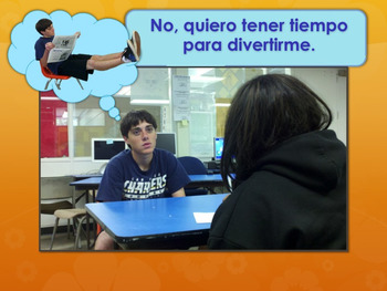 Spanish Subjunctive: Cláusulas Adjetivales TPR Story PowerPoint