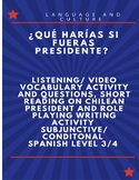 Subjunctive/ Conditional Activity and Reading/Video/Act in