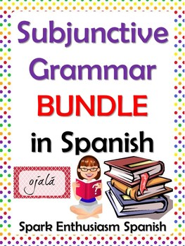 Subjunctive Grammar Packet in Spanish