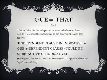 Subjunctive, Noun Clauses (WEIRDO) acronym