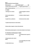 Subjunctive Packet (Latin II or III)