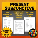 Spanish Subjunctive Quiz and Test
