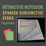 Subjunctive Spanish Interactive Notebook Flapbooks (Present)