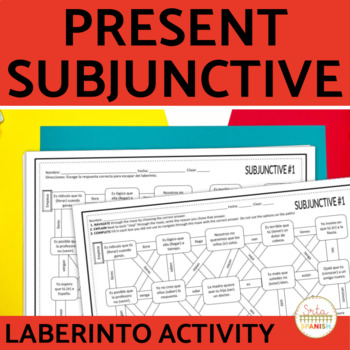 Subjunctive Spanish Laberinto Practice Activity