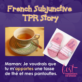 Subjunctive TPR Story PowerPoint in French