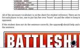 Subjunctive Verb Battleship