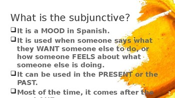 Subjunctive for Impersonal Expressions PowerPoint