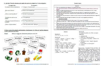 Español: Subjuntivo: emoción, voluntad, expresiones impersonales 1 (Subjunctive)